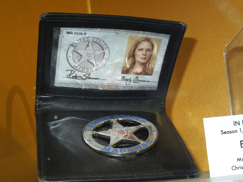 In Plain Sight US Marshal Mary Shannon ID prop