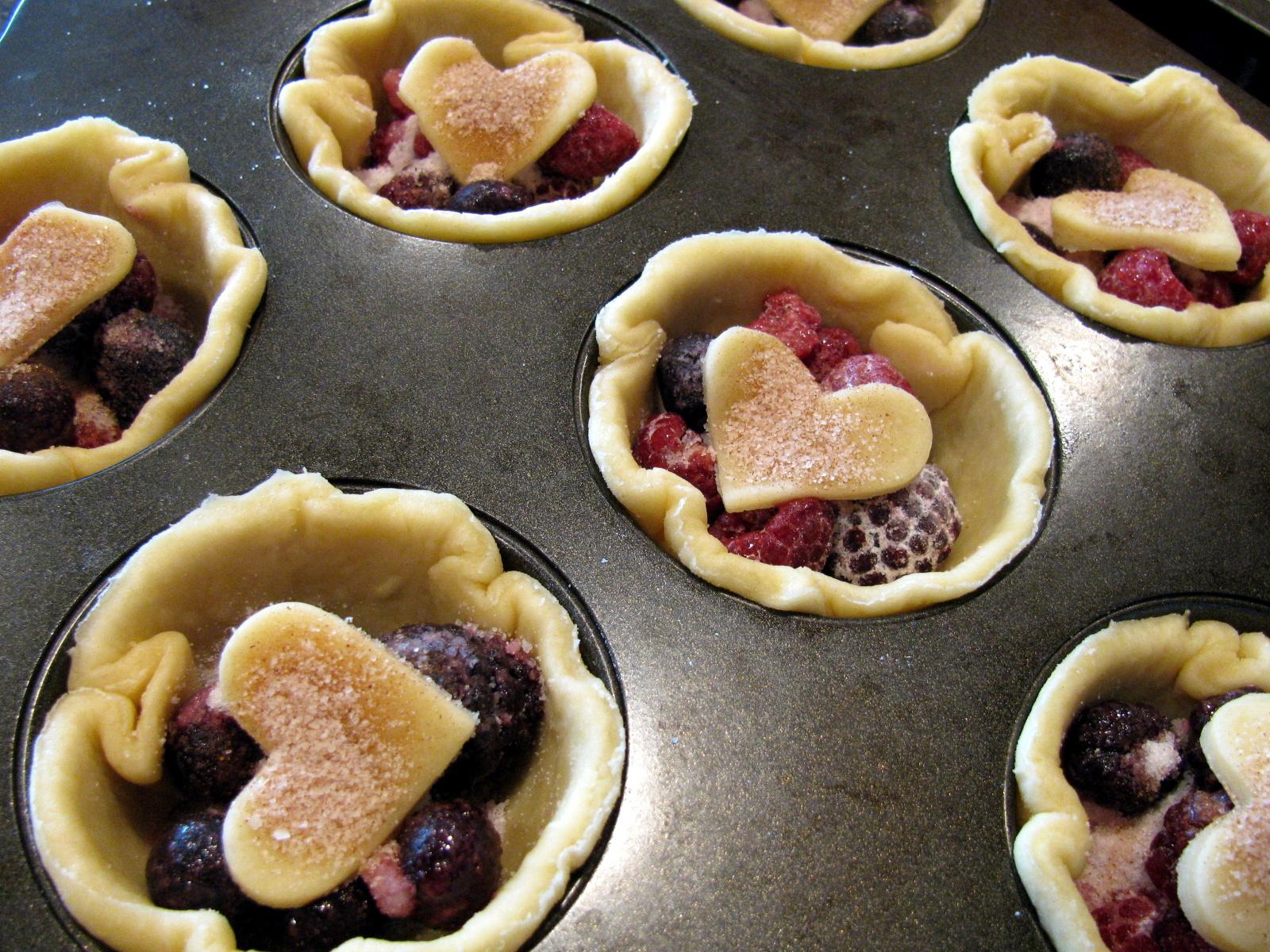 Mini Mixed Berry Pies | Family Heritage Recipes