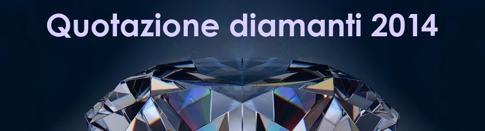 Quotazione Diamanti 2014 - Diamanti Certificati Prezzi