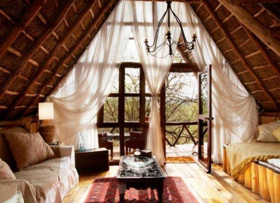 Cabin Attic Bedroom