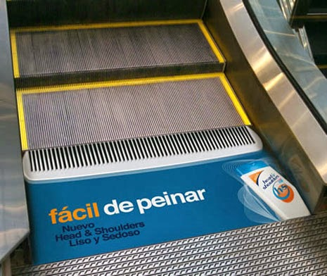 advertising and escalators H & S