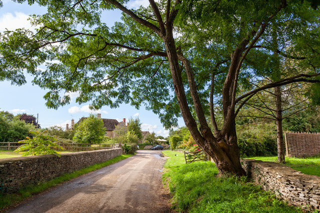 Beautiful secluded hamlet of Kelmscott in the Oxfordshire Cotswolds by Martyn Ferry Photography