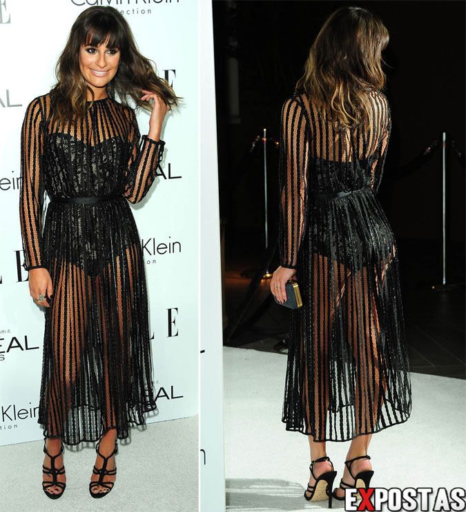 Lea Michele: ELLE's Women In Hollywood event em Beverly Hills - 15 de Outubro de 2012