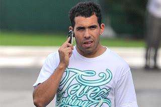 Carlos Tévez regresa a los entrenamientos del City