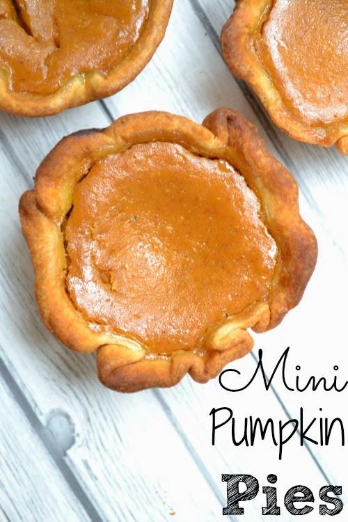 Mini Pumpkin Pies by Luv A Bargain