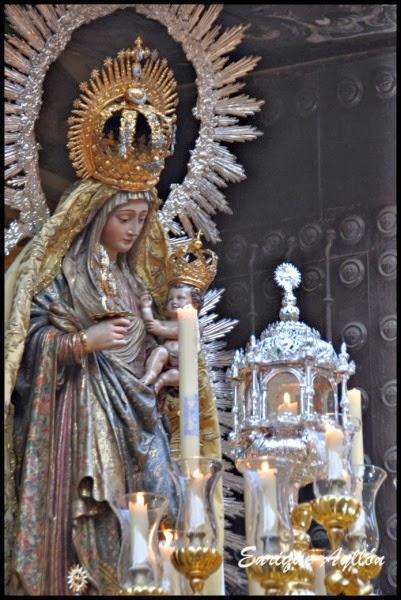 Procesión Virgen del Amparo Sevilla 2013