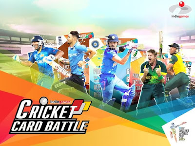 cricket card battle indiagames