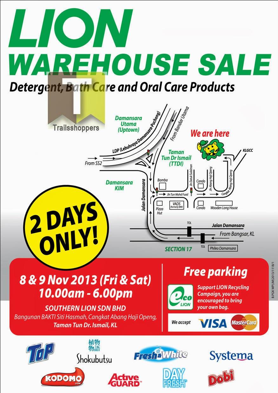 Southern Lion Warehouse Sale 2013