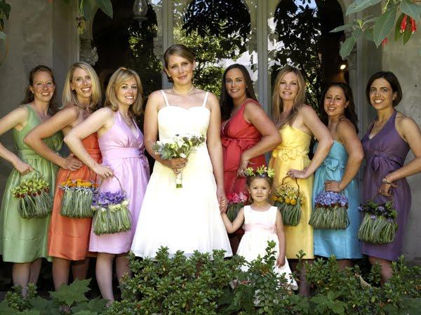 Eye Candy A Rainbow Wedding