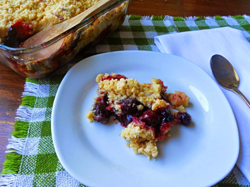 Raw Triple Berry Crisp Recipes — Dishmaps