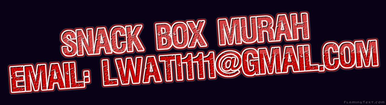 Pesan Snack Box murah untuk berbagai acara