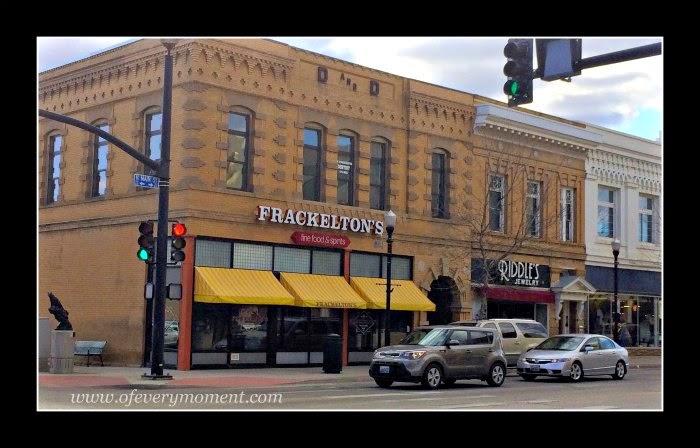 Frackelton's, Main street, Sheridan, WY