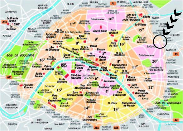 Me3zaa au del du p riph rique la porte des lilas - Les portes du peripherique paris ...