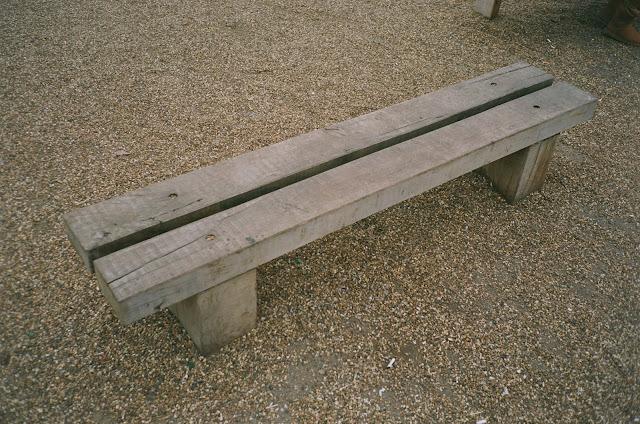 London bench Primrose Hill Camden