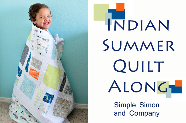 Indian Summer Quilt Along--Cutting Your Fabric