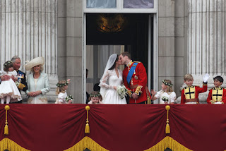 And it was so nice, Prince William and Kate Middleton did it twice -- to the delight of the British Empire and the rest of the world.