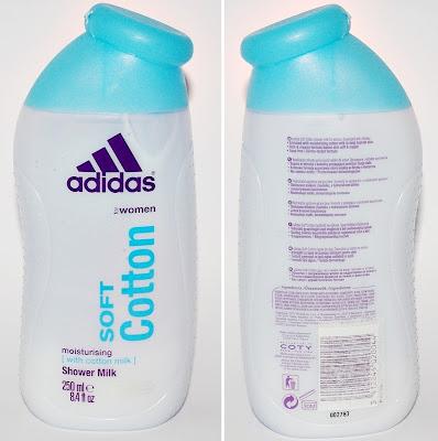 Żel pod prysznic Adidas Soft Cotton