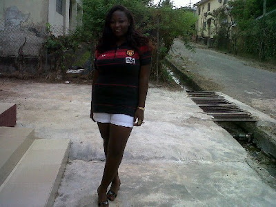 A Manchester United girl from Nigeria