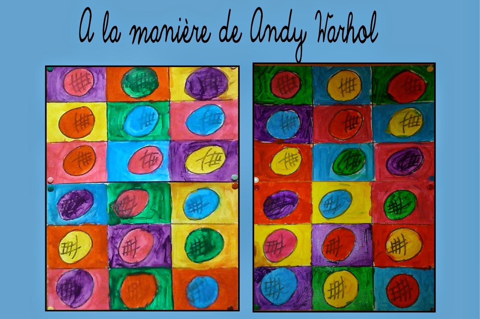 Inspirés par Andy Warhol