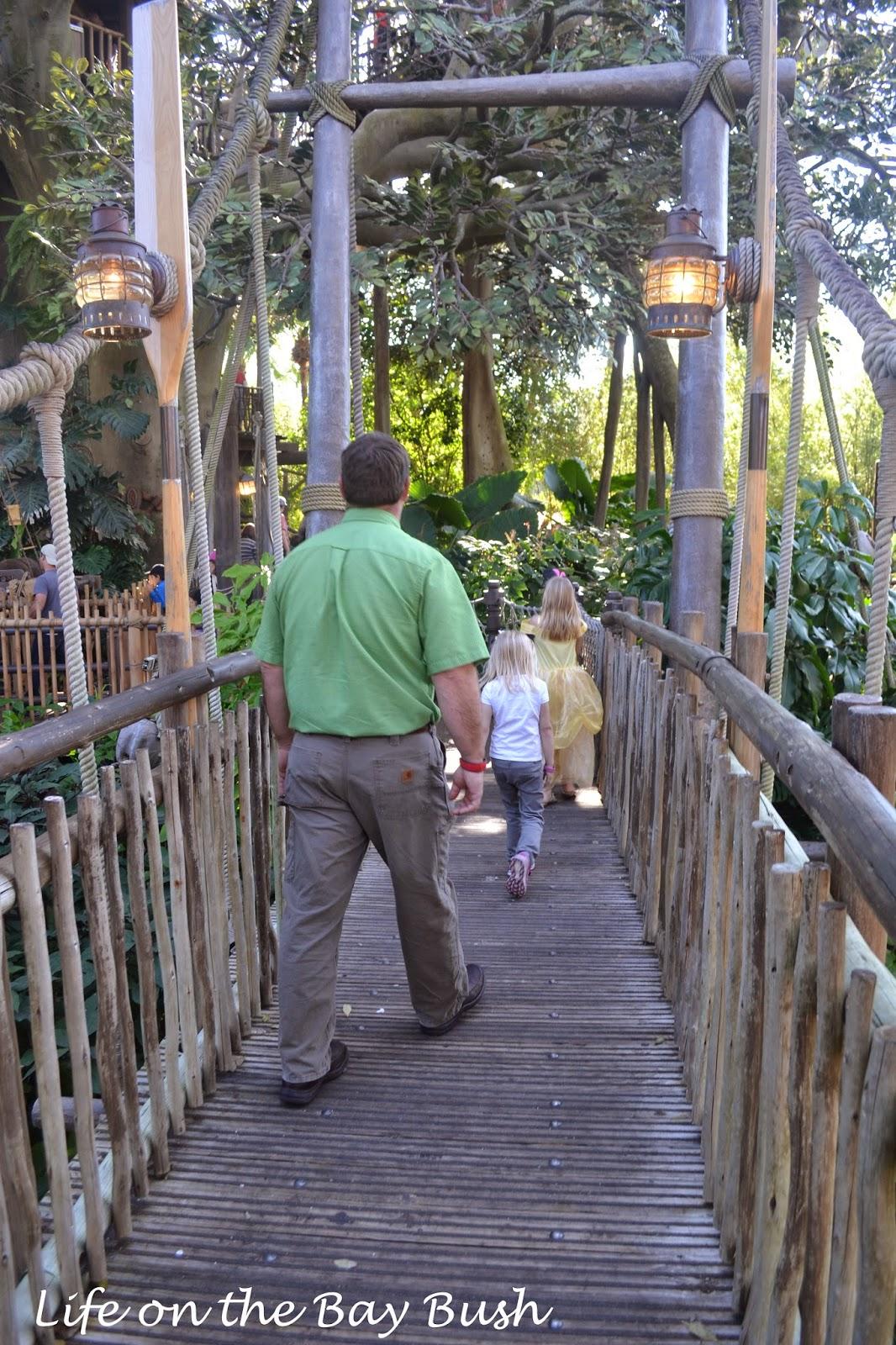 Disney's Magic Kingdom - Treehouse