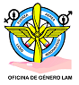 Logo y Lema de la Oficina de Género L.A.M.