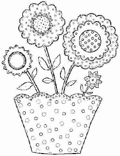 Imagens para pintura de Vasos de Flores