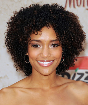 natural short curly hairstyles