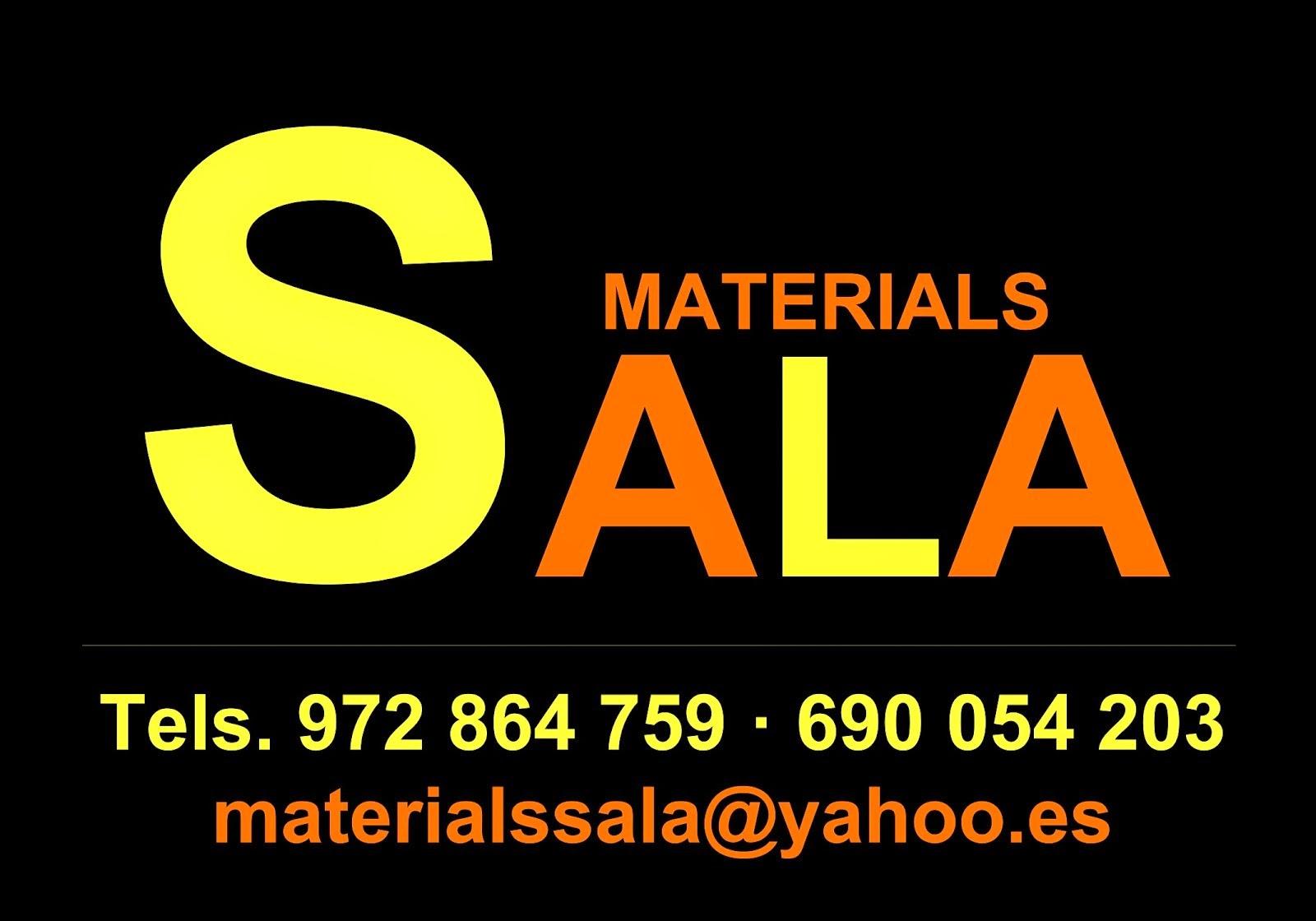 Materials Sala