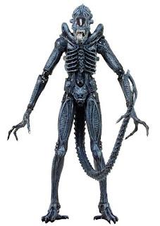 NECA Aliens Series 2 - Blue Alien Warrior Figure