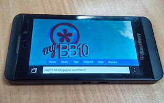 Browser BlackBerry Z10