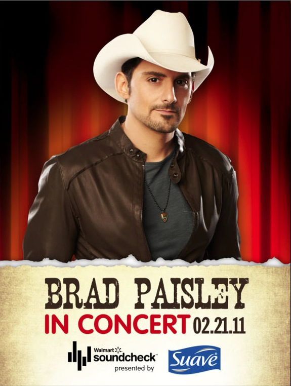 brad paisley this is country music. 2011 Brad Paisley appears on