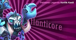 Atlanticore - Pahlawan Legenda - Konflik Kastil