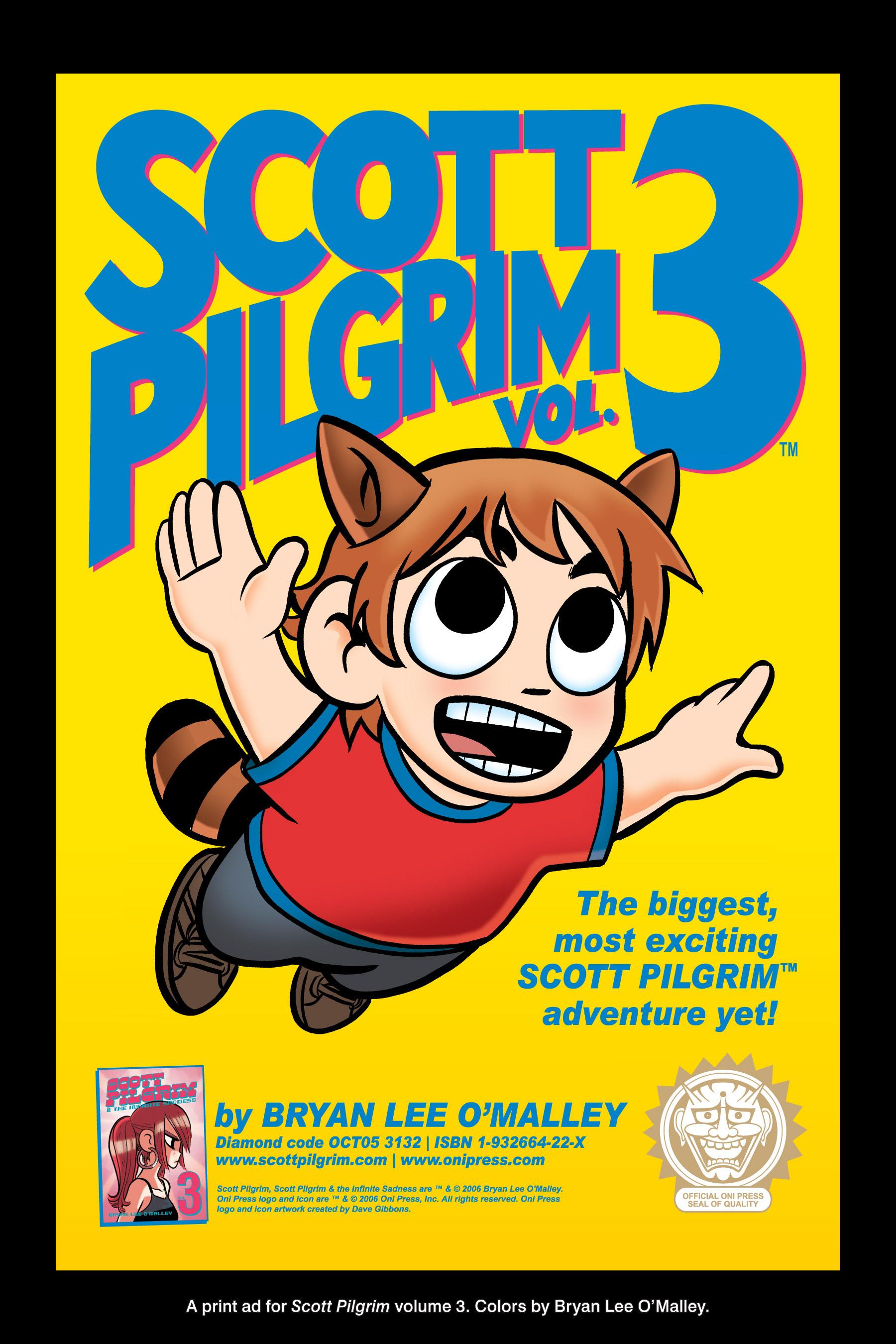 Read online Scott Pilgrim comic -  Issue #3 - 200