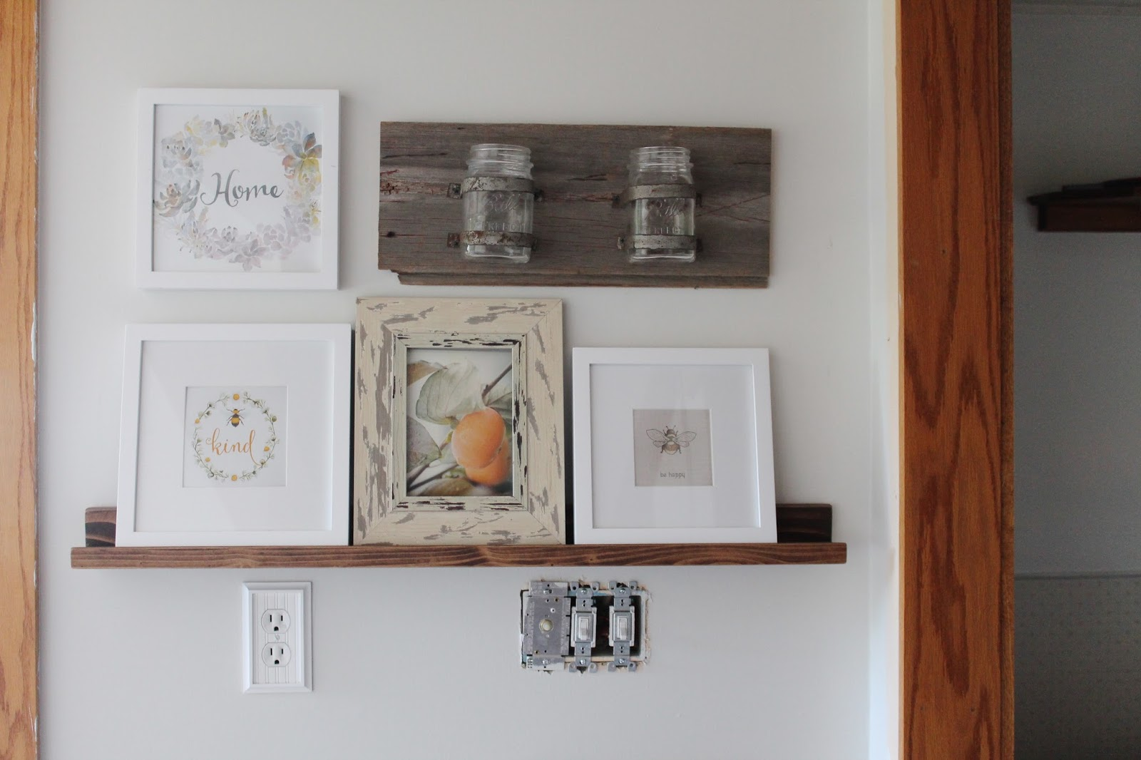 Two And A Few Frames I Also Decided To Incorporate A Purchase I Made Over The Summer From The Country Living Fair Put All That Together