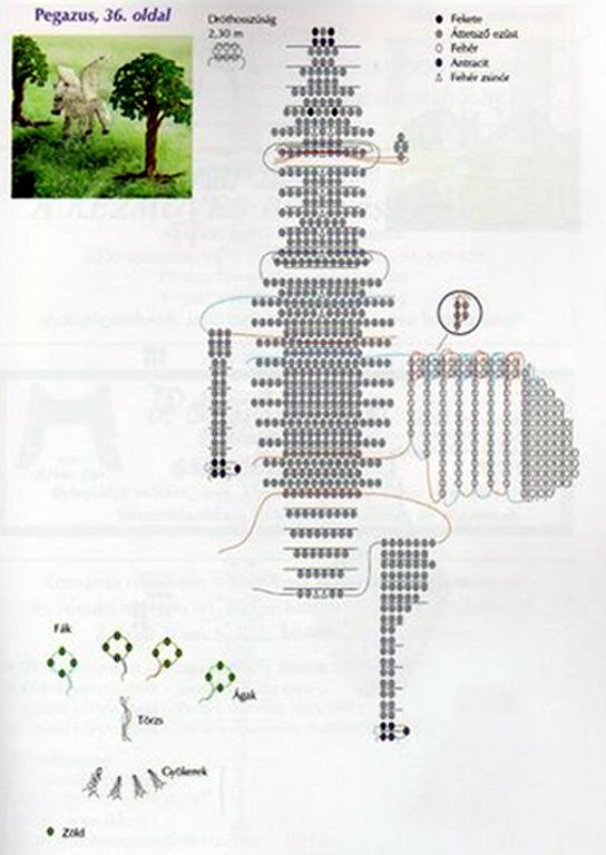 Схема ушек для лошади крючком фото 896