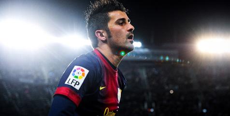 David Villa ke Atletico Madrid 2013 2014 Transfer Pemain Barcelona, David Villa ke Atletico Madrid (2013 2014)
