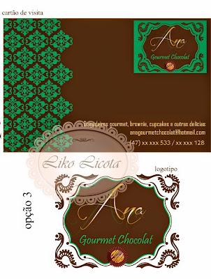 chocolate gourmet card