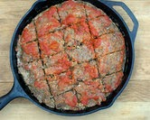 Cast Iron Meatloaf