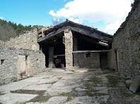 La pallissa de la masia La Vall