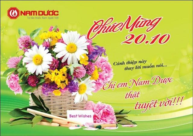 Lời chúc 20-10 hay cảm động nhất tặng chị em phụ nữ Việt Nam