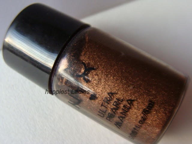 NYX Ultra Pearl Mania Walnut Eyeshadow Review+nyx eyeshadow
