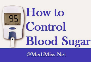 How to Control Blood Sugar