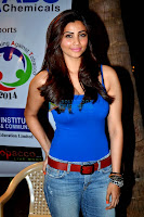 Daisy Shah at anti-tobacco concert