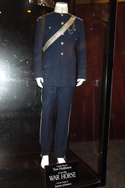 Tom Hiddleston War Horse blue cavalry uniform