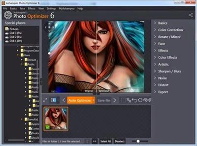 Ashampoo Photo Optimizer 6.0.5 + portable