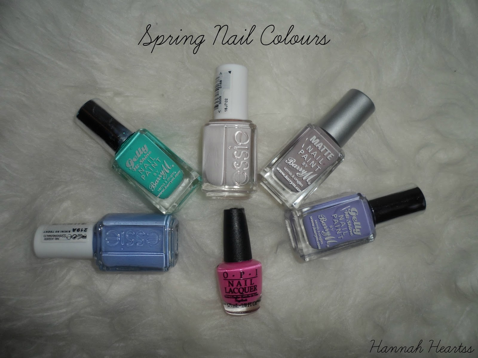 Spring Nail Colours 2014