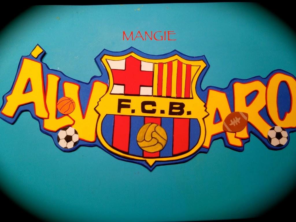 Letrero con nombre barcelona