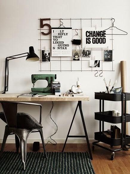 Vintage Trendy Inspirezvous et crez bureau style industriel