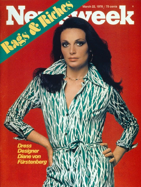 Diane von Furstenberg on NewsWeek Magazine