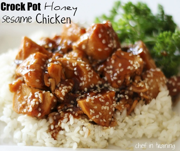 Notes from the Nelsens: Crock Pot Honey Sesame Chicken & Agave ...